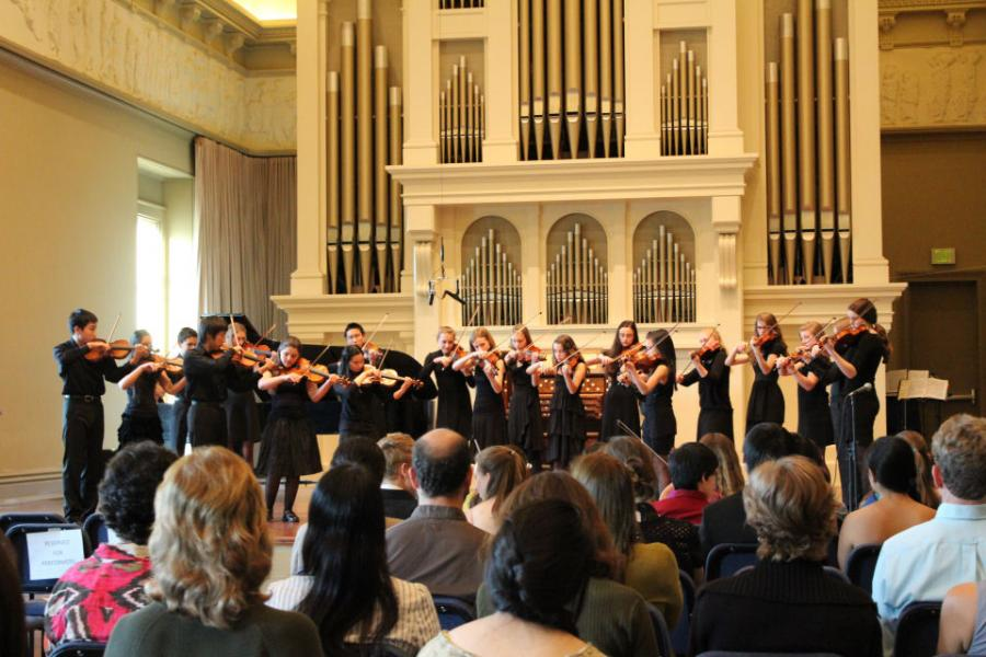 Stellae Boreales & the Peabody Violin Choirs in concert