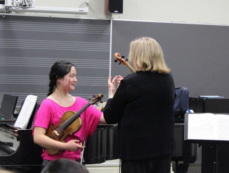 Master Class with Rebecca Henry